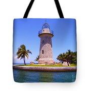 Boca Chita Lighthouse Tote Bag