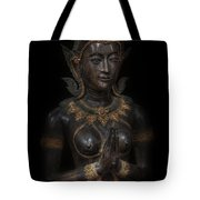 Bodhisattva Princess Tote Bag by Daniel Hagerman