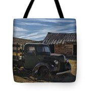 Bodie Abandoned Truck Tote Bag