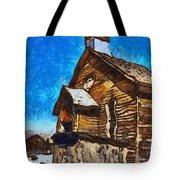 Bodie Ghost Town Methodist Church Tote Bag