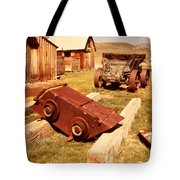 Bodie Ghost Town Ore Car Tote Bag