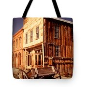Bodie Ghost Town Wagon Tote Bag