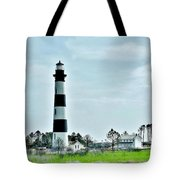 Bodie Island Lighthouse - Outer Banks North Carolina Tote Bag