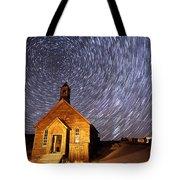 Bodie Star Trails Tote Bag