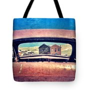 Bodie Through Car Window Tote Bag