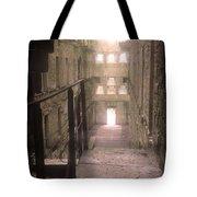 Bodmin Jail Looking In Tote Bag