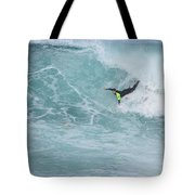 Body Surfer  Tote Bag