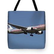 Boeing 767 Of American Airlines Tote Bag