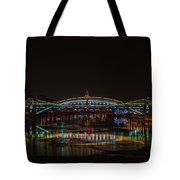 Bogdan Khmelnitsky Bridge Over The Moscow River - Featured 3 Tote Bag