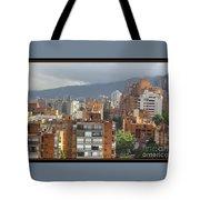 Bogota City View Tote Bag