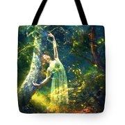 Bohemian Dancer Fantasy Tote Bag