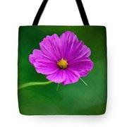 Bohemian Garden Magenta Tote Bag