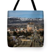 Boise Idaho Tote Bag by Robert Bales