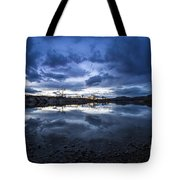 Boise River Just After Sunset Tote Bag