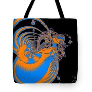 Bold Energy Abstract Digital Art Prints Tote Bag