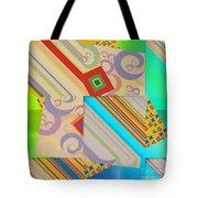 Bold Geometric Abstract  Tote Bag