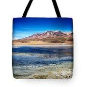 Bolivia Desert Lake Framed Tote Bag
