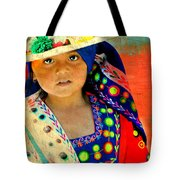 Bolivian Child Tote Bag