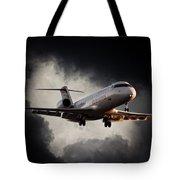 Bombardier Landing Tote Bag