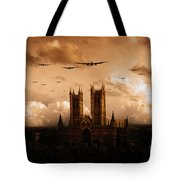 Bomber Country  Tote Bag