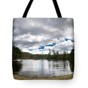 Bon Echo Lagoon Panorama Tote Bag by Cale Best
