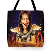 Bon Scott Tote Bag