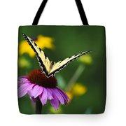 Bon Voyage Butterfly Tote Bag