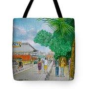 Bonaire Street Tote Bag
