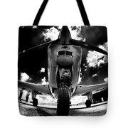 Bonanza In Black And White Tote Bag
