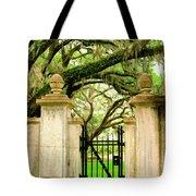 Bonaventure Gate Savannah Ga Tote Bag