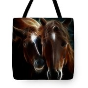 Bond Of Mother And Baby Tote Bag