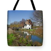 Bonds Mill Area Stroudwater Canal Tote Bag