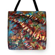 Bones And Combs Tote Bag