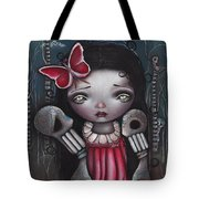 Bones Butterflies And Dreams Tote Bag by Abril Andrade Griffith