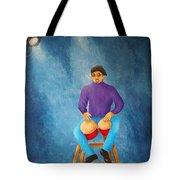 Bongo Man Tote Bag by Pamela Allegretto