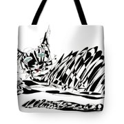 Bonifacy Cat Tote Bag