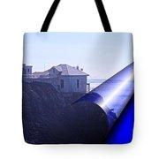 Bonita Lighthouse Landscape Tote Bag