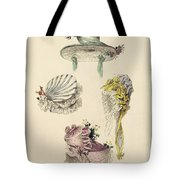 Bonnets For An Occasion, Fashion Plate Tote Bag