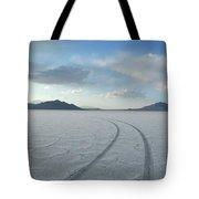 Bonneville Salt Flats, Salt Lake City Tote Bag