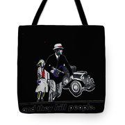 Bonnie And Clyde Poster 1967 Death Valley California 1968-2009 Tote Bag