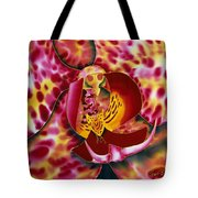 Bonnie Orchid IIi Tote Bag by Daniel Jean-Baptiste