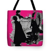 Bonnie Parker Aiming Rifle At Clyde Barrow March 1933 Tote Bag