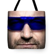 Bono Of U2 Tote Bag