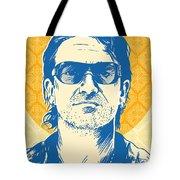 Bono Pop Art Tote Bag by Jim Zahniser