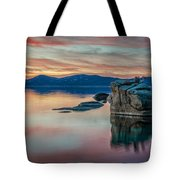 Bonsai Sunset 2 Tote Bag