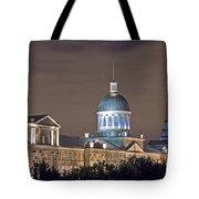 Bonsecours At Night Tote Bag