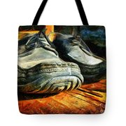 Boogie Shoes - Walking Story - Drawing Tote Bag