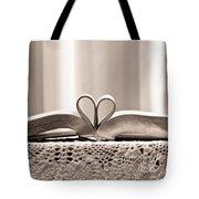 Book Heart Series 1 Tote Bag