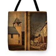 Book Of Churches Tote Bag