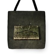 Book With Glasses Tote Bag